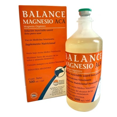 Balance Magnesio