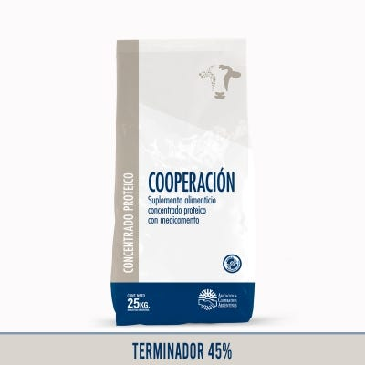 Concentrado Bovinos Terminador 45%